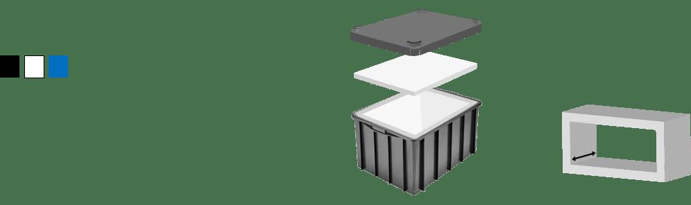 Caixa Plástica Agrícola 60 L